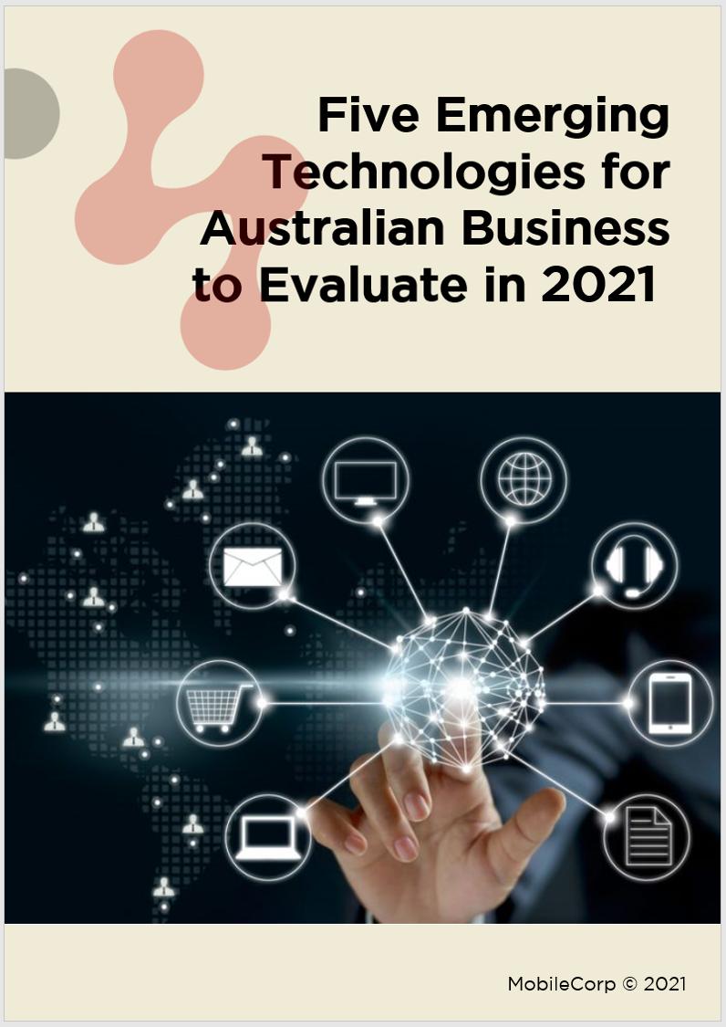 Emerging Tech cover 2021
